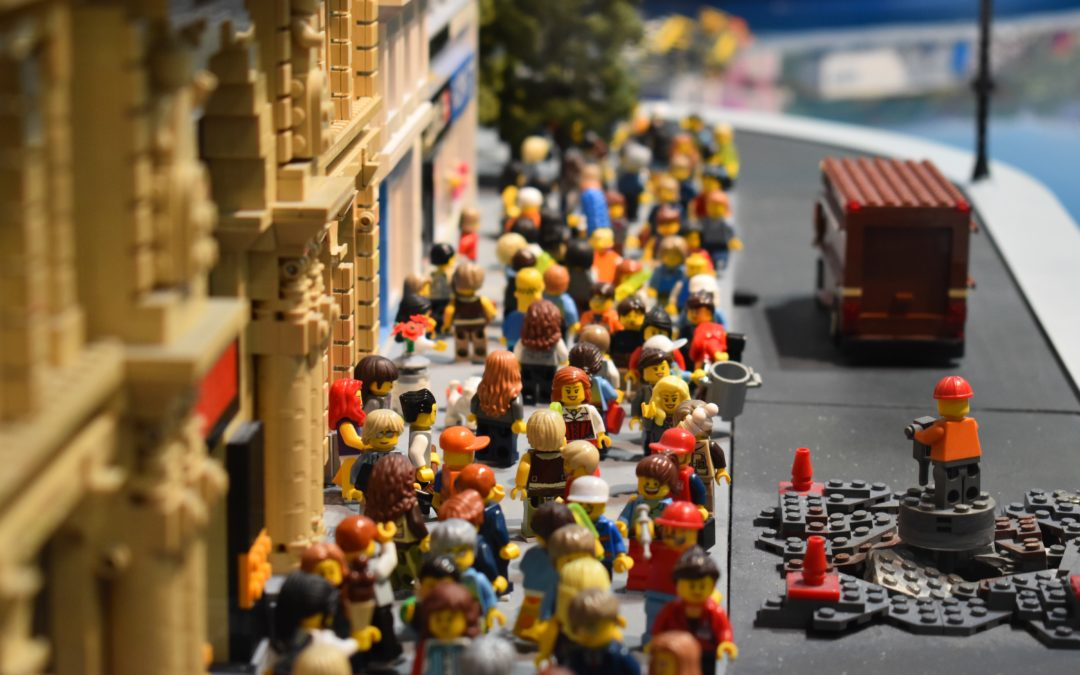 The Lego Ideas Conference: Playing, leapfrogging and scaling