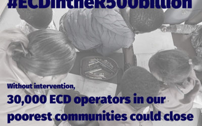 Up to 30,000 ECD operators could close as a result of Covid-19